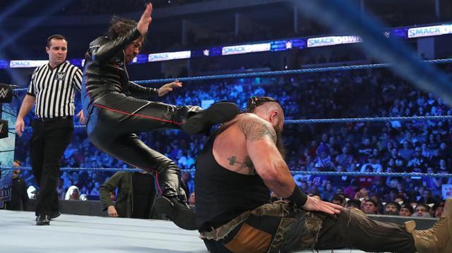 画像: 中邑がストローマンに敗れて無念の王座陥落【1・31 WWE】