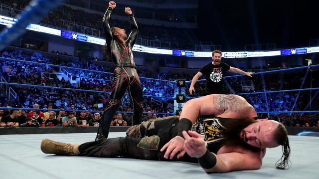 画像: 前王者の中邑真輔が新王者ストローマンをキンシャサでKO【2・7 WWE】