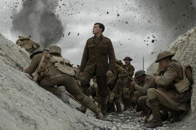 """画像: サム・メンデスが放つ""""全編ワンカット""""に世界が驚愕『1917 命をかけた伝令』"""