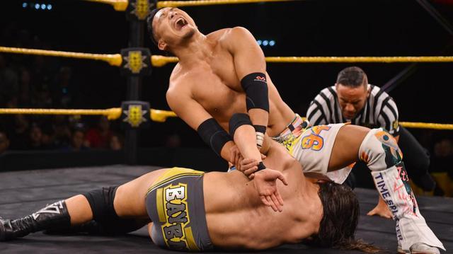 画像: KUSHIDAが王者コールに無念の惜敗【WWE NXT】