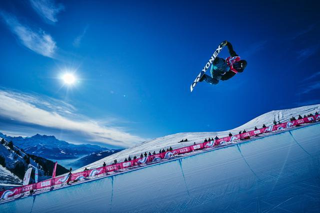 画像: スノーボード ハーフパイプ・平野流佳【アフロスポーツ プロの瞬撮】