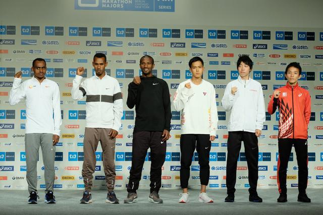 画像: 大迫傑、設楽悠太、井上大仁らが意気込み 1日に東京マラソンエリートレース号砲
