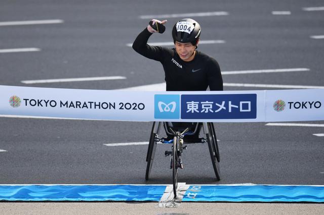 画像: 東京マラソン、車いすは男女日本勢が初優勝!