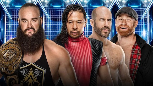 画像: 中邑&ゼイン&セザーロがストローマン&nWoと対立【3・6 WWE】