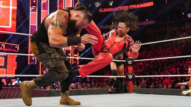 画像: 中邑のキンシャサからの連携攻撃でゼインが新IC王者に【3・8 WWE】
