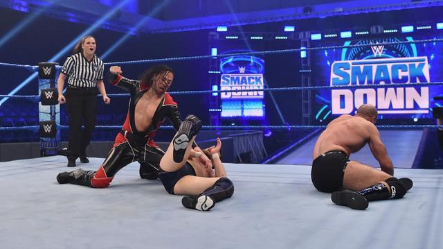 画像: セザーロ破ったダニエル・ブライアンを中邑真輔が襲撃【3・13 WWE】