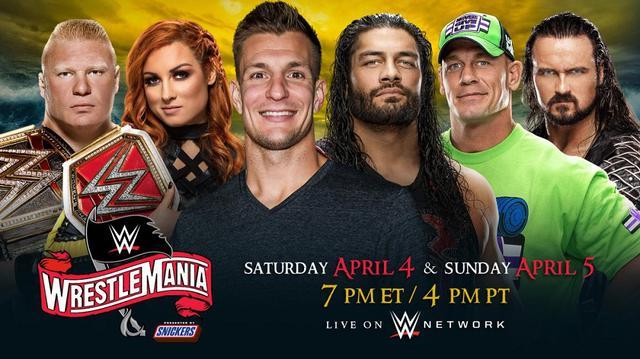 画像: 「レッスルマニア36」が史上初の2日間開催に【WWE】