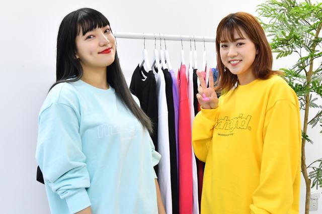 画像: E-girlsの須田アンナと武部柚那「元気を届けられるように頑張る」