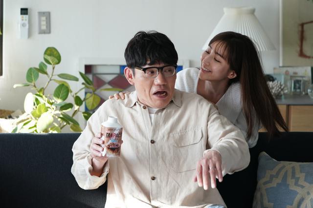 画像: 田中みな実が飯尾和樹を悩殺? 新CMで夫婦役も飯尾「どうやって結婚まで来たのか? 」