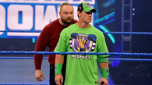 """画像: """"ザ・フィーンド""""ワイアットが祭典を前にシナに心理戦【WWE】"""