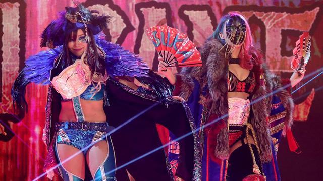画像: アスカとカイリのカブキ・ウォリアーズが無念の王座陥落【WWE レッスルマニア】