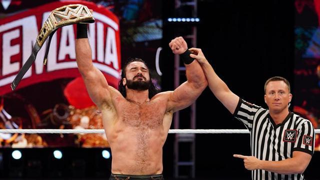 画像: レッスルマニアで王座戴冠のマッキンタイア 防衛戦でも勝利していた【WWE】