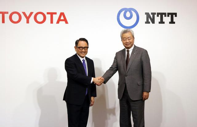 画像: トヨタとNTTが資本提携