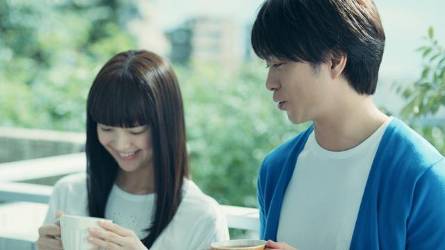 画像: 櫻井翔と多部未華子、新CMで何気ない日常