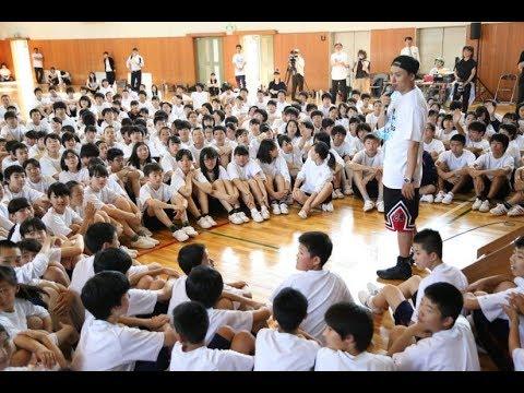 画像: 山下健二郎(三代目 J Soul Brothers )が母校で夢のダンス授業 youtu.be