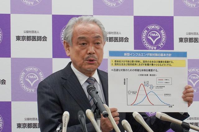 画像: 「コロナ専門病院」設置も 東京都医師会が会見で説明
