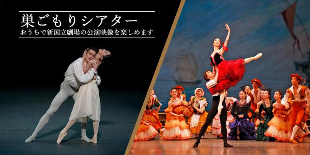 画像: バレエ鑑賞でステイホーム、新国立劇場が「巣ごもりシアター」