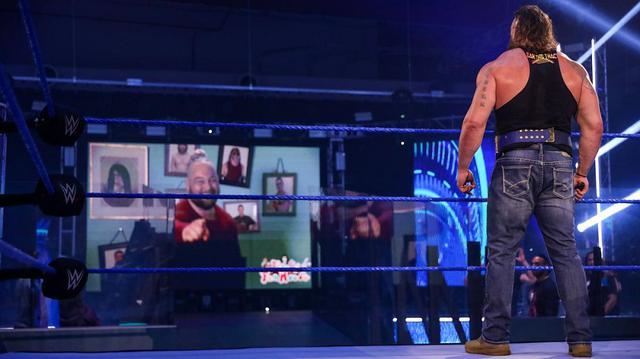 """画像: かつての""""師弟""""ワイアットとストローマンの因縁が再燃【WWE】"""