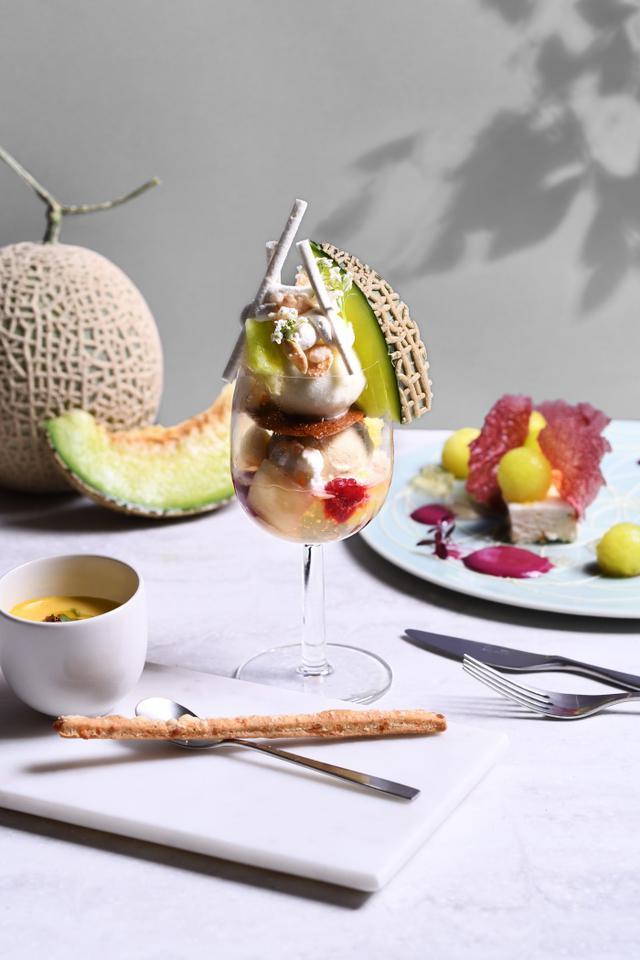 画像: 夏の果物の王様、メロンのフルコースが銀座で登場!