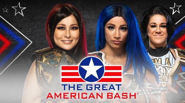 画像: 紫雷イオとサーシャ・バンクスのノンタイトル戦が7・3「NXT」で決定【WWE】