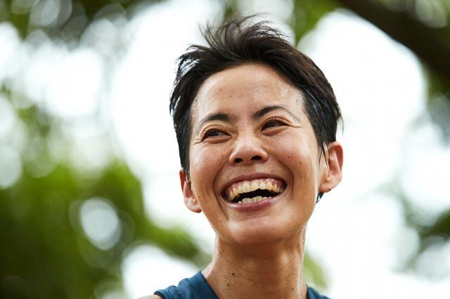 画像: トライアスリート・上田藍の笑顔と気配り 【アフロスポーツ プロの瞬撮】