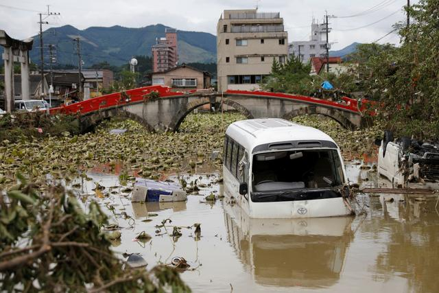 画像: 「線状降水帯」発生で豪雨被害