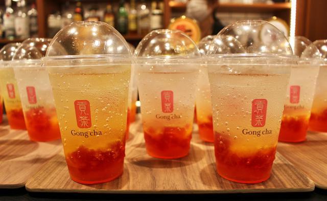 画像: ゴンチャから夏にぴったりのフルーツビネガーが登場!渋谷モディ店では限定価格で先行販売