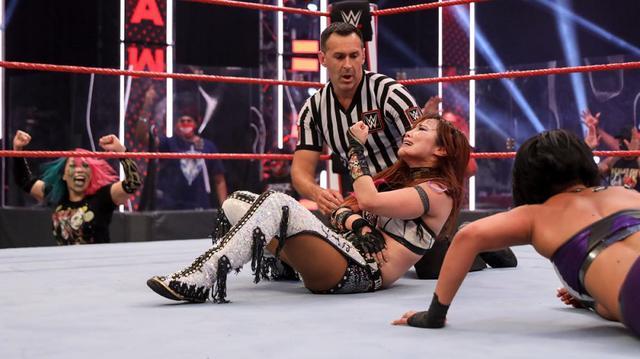 画像: 次週のロウでアスカvsサーシャのロウ女子王座決定戦が決定【WWE】