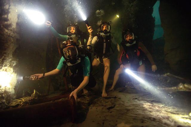 画像: 【明日は何を観る?】『海底47m 古代マヤの死の迷宮』