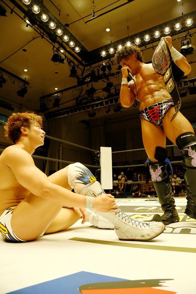 画像: KO-D無差別級王座V2の遠藤哲哉がケニー・オメガとの防衛戦を熱望【DDT】