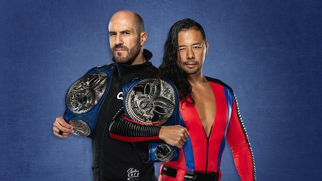 画像: 新SDタッグ王者・中邑真輔&セザーロが全チームに宣戦布告【WWE】