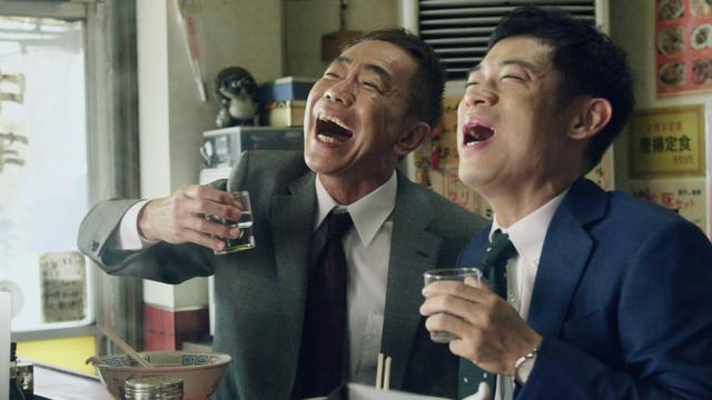 画像: 木梨憲武と伊藤淳史がCMで上司と部下「映画化まで撮ってくれれば」