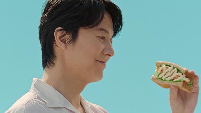 画像: 福山雅治がサラダを愛でる!新CMで書き下ろしの楽曲