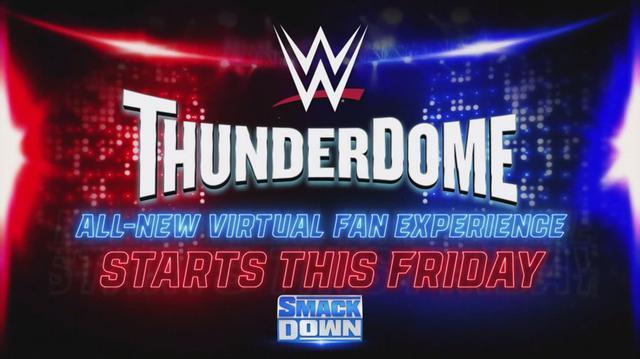画像: WWEが最先端技術を駆使したバーチャル観戦「WWEサンダードーム」を導入