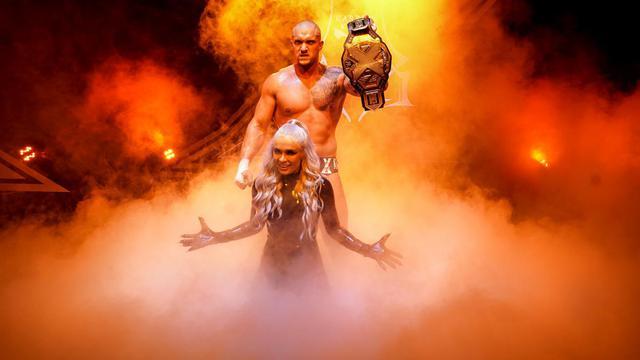 画像: カリオン・クロスが元2冠王者キース・リーを沈めてNXT王座を戴冠【WWE NXT】