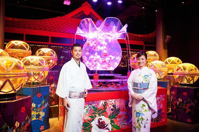 画像: 上戸彩、アートアクアリウム美術館の広報大使に「美しい夢の世界」
