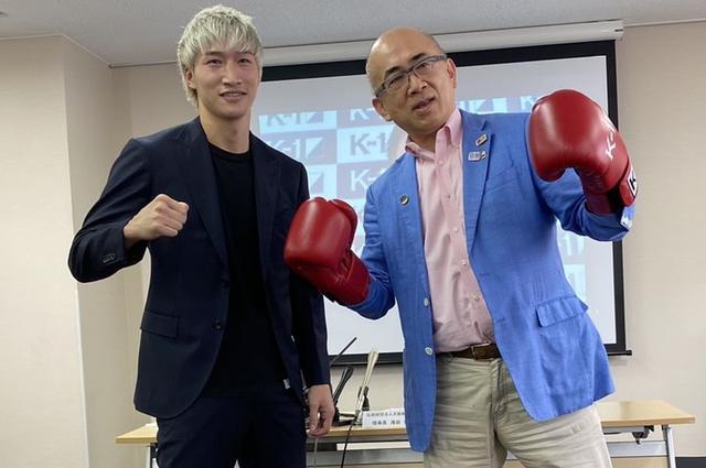 画像: 大阪観光局で安保瑠輝也が会見「大阪からK-1で日本中に元気を届けたい」【K-1大阪】