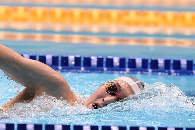 画像: 池江璃花子、復帰レースでインカレ標準記録を突破 東京都特別水泳大会
