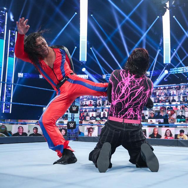 画像: タッグ王者・中邑真輔がジェフ・ハーディのIC王座に挑戦も2冠届かず【WWE】