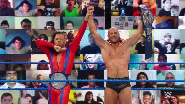 画像: 「クラッシュ・オブ・チャンピオンズ」で中邑&セザーロがSDタッグ王座戦【WWE】