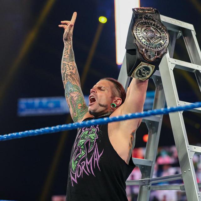 画像: 王者ジェフがAJ、ゼイン相手のトリプルスレットIC王座ラダー戦を要求【WWE】