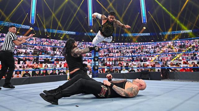 画像: レインズが見せ場取られた従兄弟ジェイへ秘めた遺恨深める【WWE】