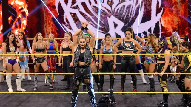 画像: 王者・紫雷イオとキャンディス・レラエのNXT女子王座戦が「NXTテイクオーバー31」で決定【WWE NXT】