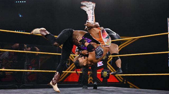 画像: KUSHIDAがドリームの策略で王座挑戦権奪取ならず【WWE NXT】