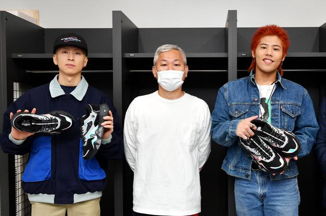 画像: ついに完成!長谷川慎&後藤拓磨の夢のスニーカー