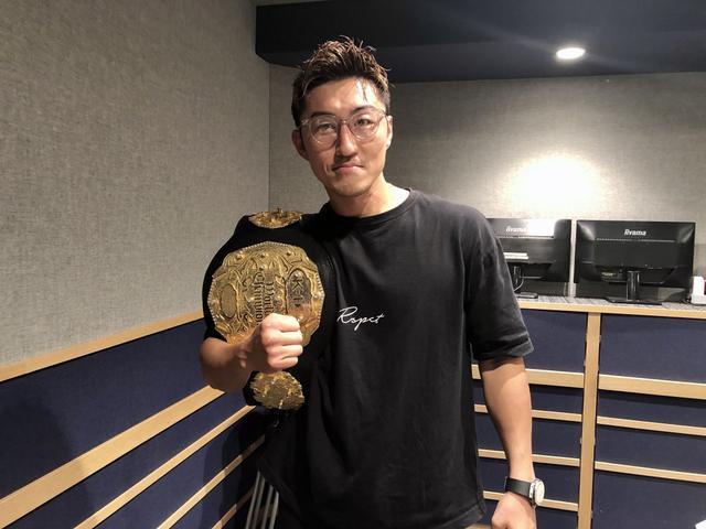 画像: 「悲願のK-1チャンピオン」山崎秀晃さん(K-1ファイター)