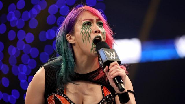 """画像: """"女子王者対決""""を前にアスカの挑発止まらず...「お前は私の""""ボス""""じゃない」【WWE】"""