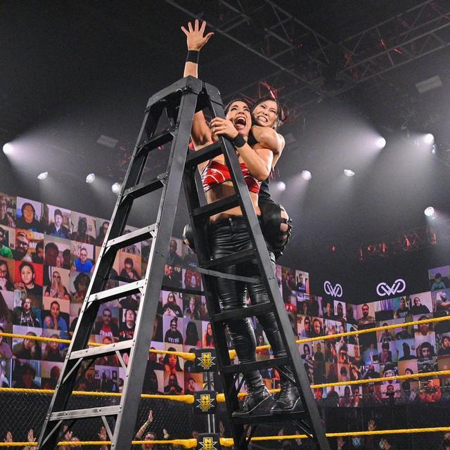 画像: 紫雷イオが女子ウォーゲームズ戦のチーム・ショッツィに電撃加入【WWE NXT】