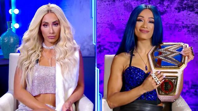 画像: 王者サーシャvsカーメラのスマックダウン女子王座戦が決定【WWE】