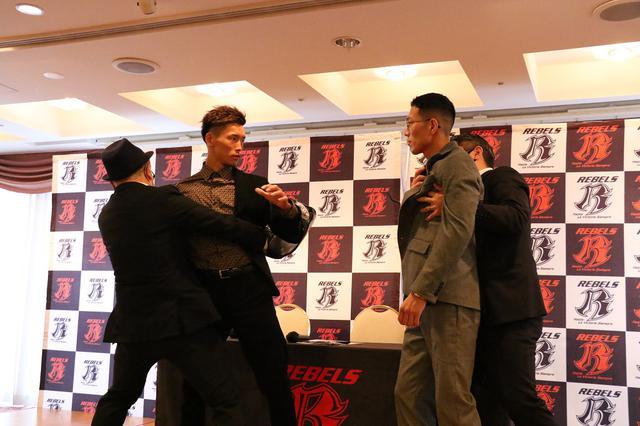 画像: メインで対戦のバズーカ巧樹と大谷翔司が一触即発【REBELS.69】